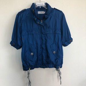 Adidas Stella mcCartney Front zip hooded jacket